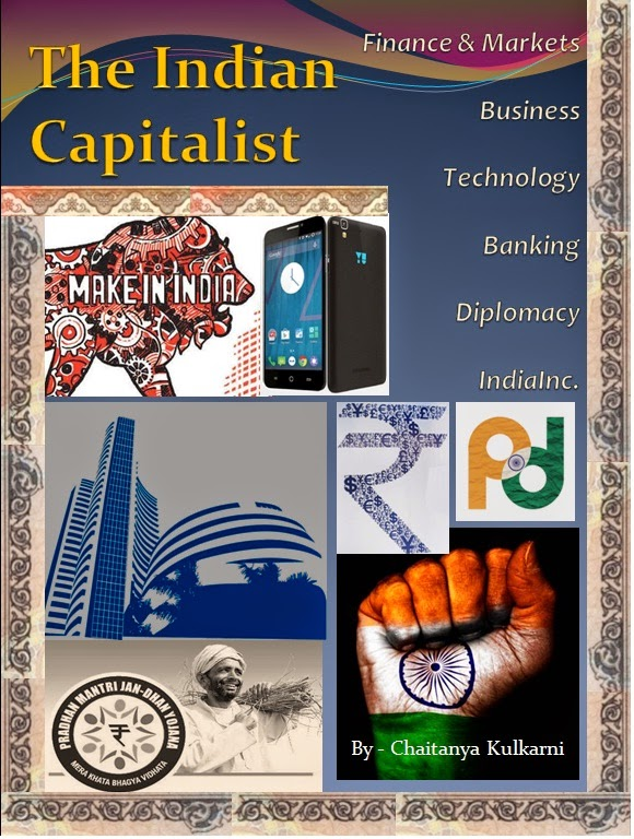 The Indian Capitalist - Magazine cover