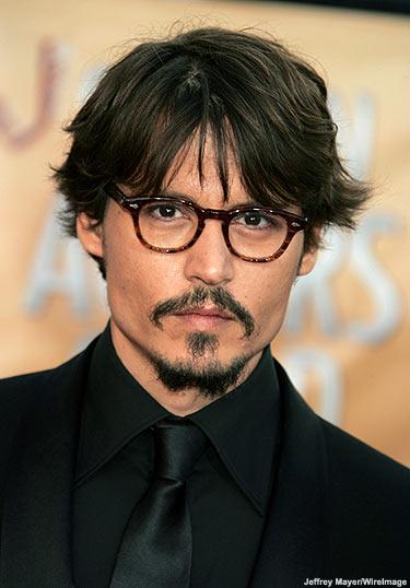 johnny depp hair. Jhonny Depp in glasses