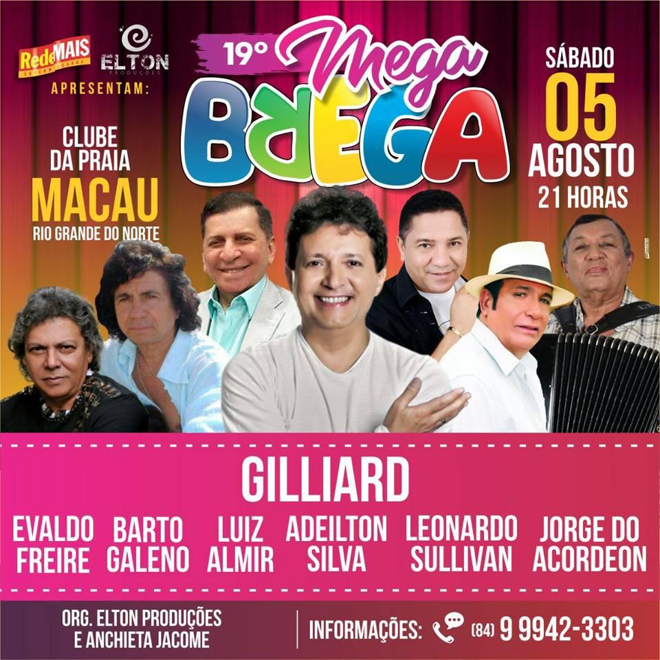 19º MEGA BREGA - CLUBE DA PRAIA - 05-08-17