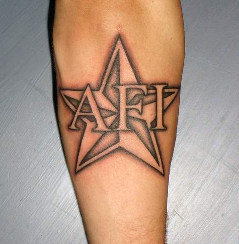 Pictures of star tattoos