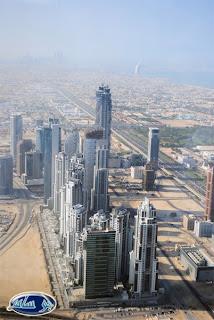 قمة برج خليفة