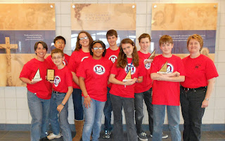Montgomery Catholic's MathCounts Team Advances to State Competition 1