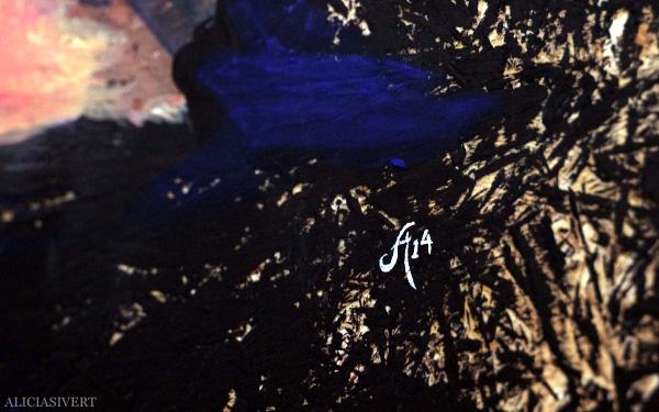 aliciasivert, alicia sivert, alicia sivertsson, målning, akryl, acrylic paint, acrylics, portrait, porträtt, woman, colours, red hair, redhead, self portrait, självporträtt, rött hår, detail, detaljbild