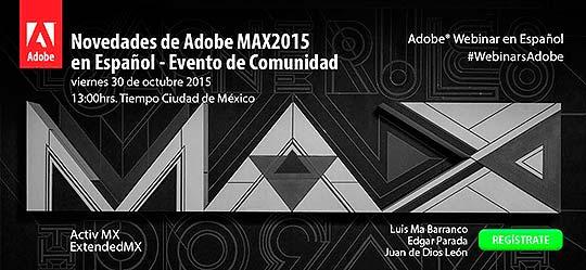 Adobe MAX2015 en Español - Evento de Comunidad