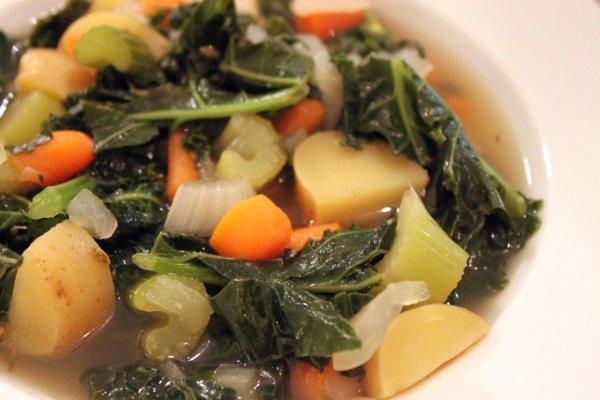 Vegetable Kale Soup Recipe
