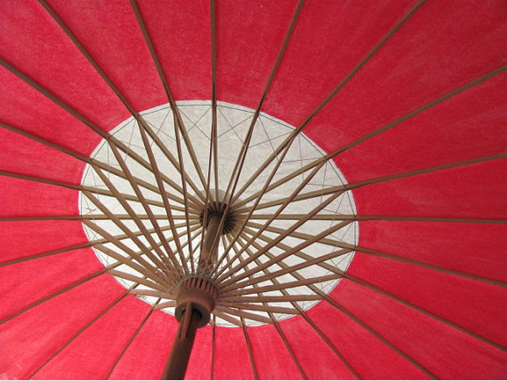 Hand Painted Parasol #parasol #umbrella