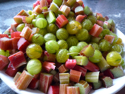 Recipe Gooseberry and Rhubarb Jam