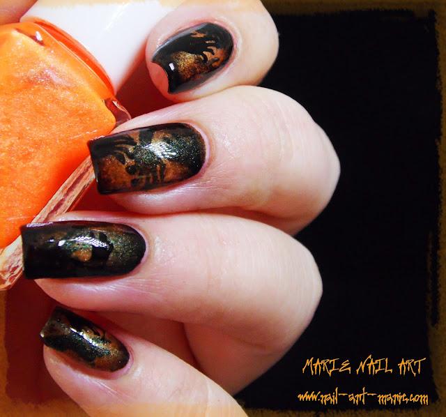 Nail Art Ombres Terrifiantes7