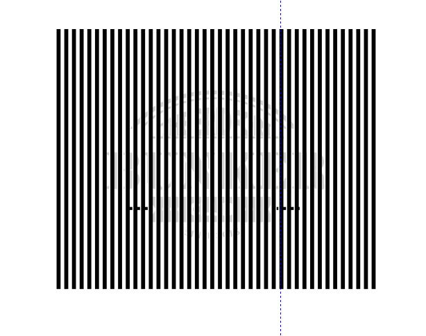 Cara membuat gambar tersembunyi di Corel Draw