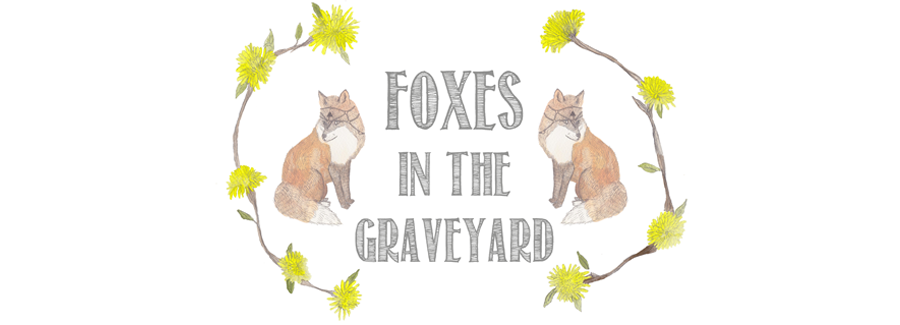 Foxes in the graveyard
