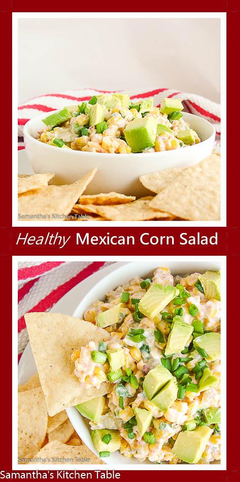 Healthy Mexican Corn Dip