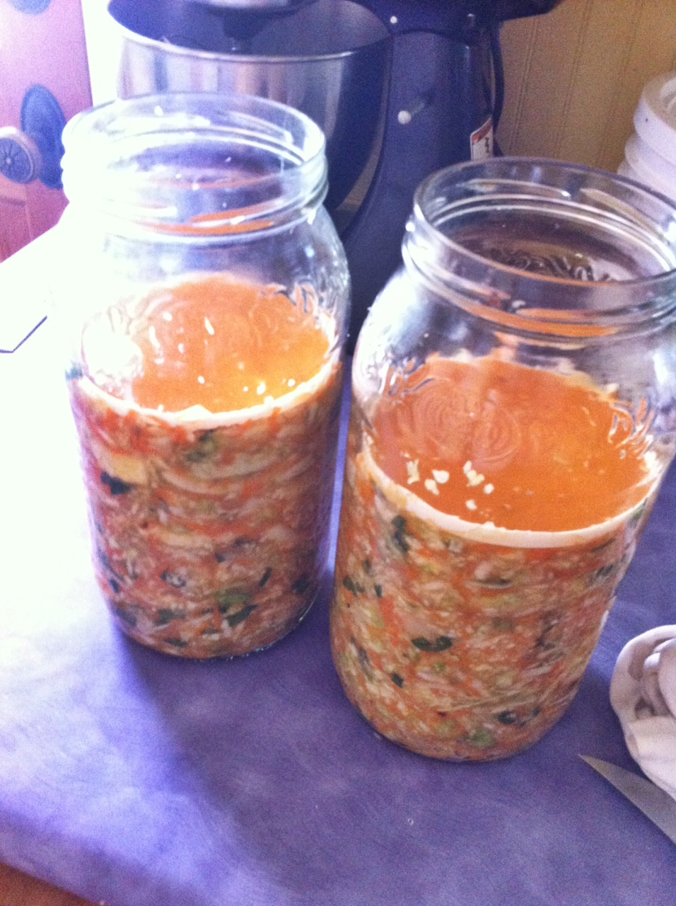 how to make fermented kimchi