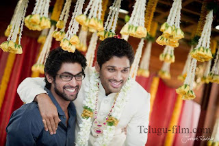 Allu Arjun And Rana
