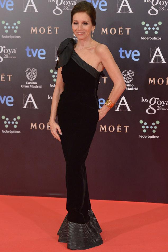 Ana Belén (Armani) Goyas 2014
