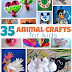 35 Easy Animal Crafts For Kids