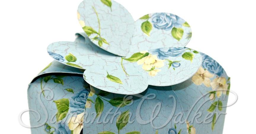 Samantha Walker S Imaginary World 3d Hexagon Flower Top Box Tutorial