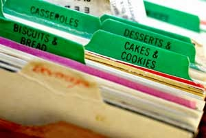 Organizing Your Recipes