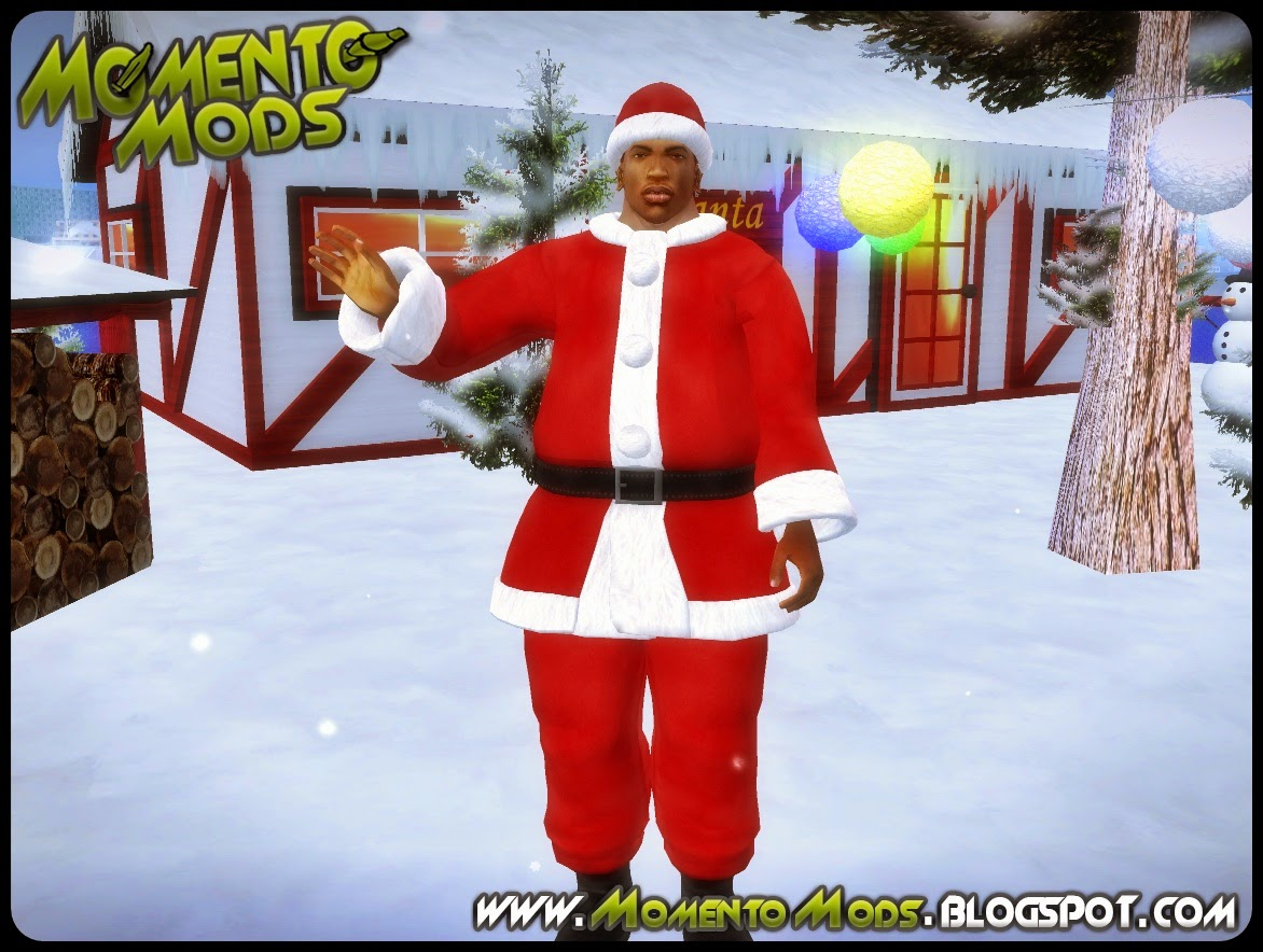 GTA SA - Mod CJ Papai Noel