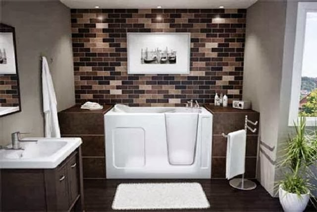 Ideas Elegant Minimalist Bathroom 2014