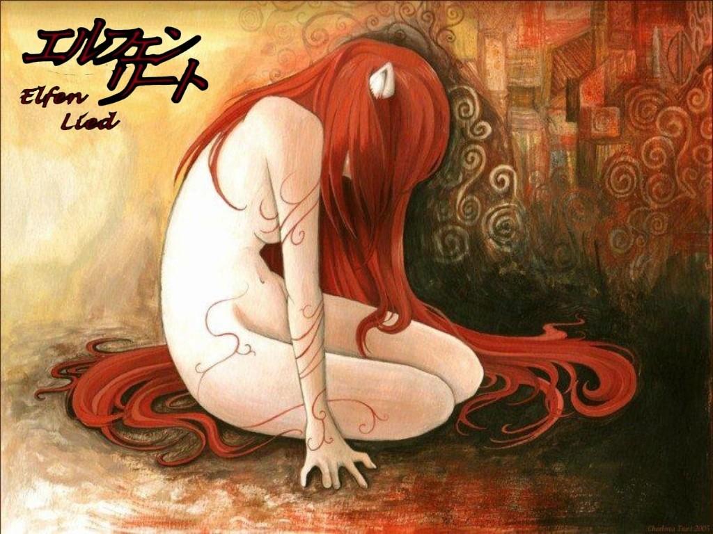 Vuestras Series/Mangas Favoritas Elfen+Lied
