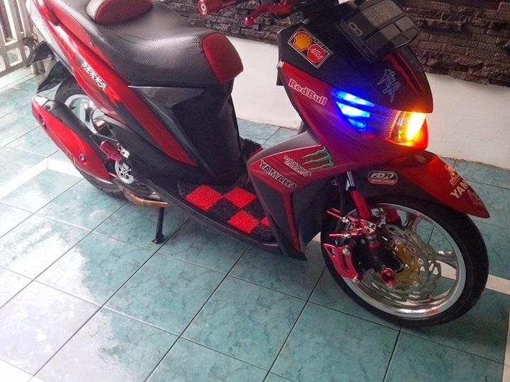 mio soul gt merah modifikasi terbaru dan terbaik 2014 merupakan hasil modifikasi