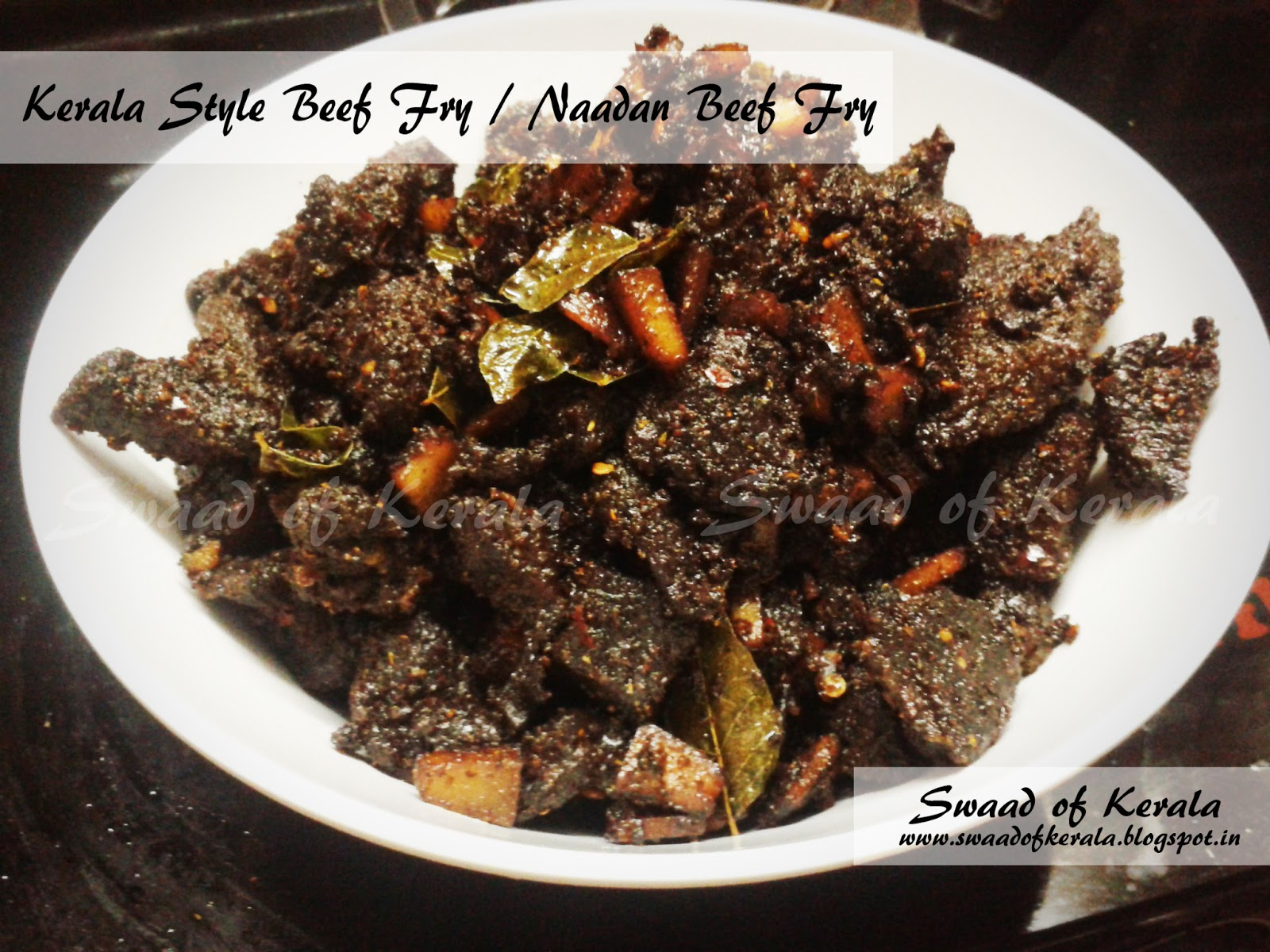 Kerala Style Beef Fry / Naadan Beef Fry