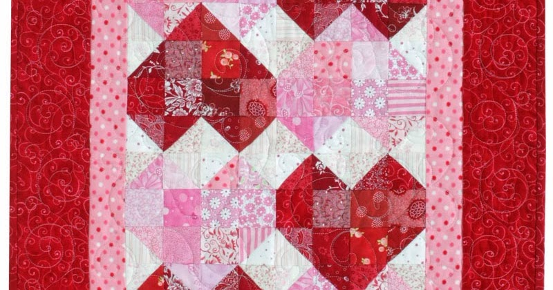 Jen Daly Quilts Quot Sweetheart Quot Free Pattern