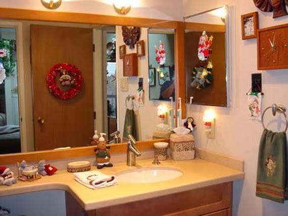 Decorar Baño Navidad:Decorar un baño en Navidad – Colores en Casa