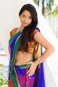 Santoshi sharma half saree pics-thumbnail-19