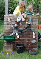 Planning a new water wall for water play