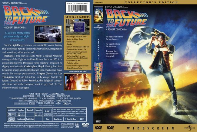 Back To The Future – Latino – DVD9
