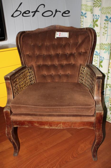 Remodelaholic DIY Chair Makeover Under $50
