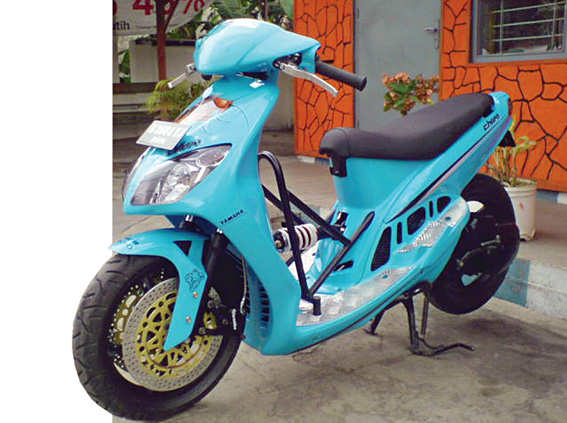 Modifikasi Mobil Dan Motor Yamaha Mio 02 Cewek Tak