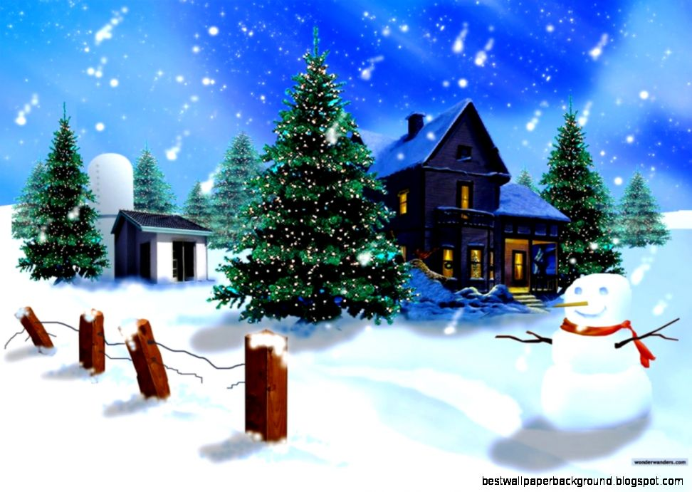 Animated Christmas Wallpaper Backgrounds Best Wallpaper Background