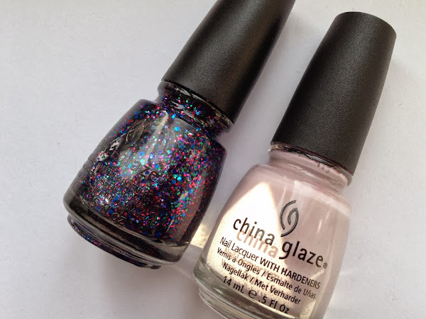 China Glaze Light As Air + Fang-Tastic.