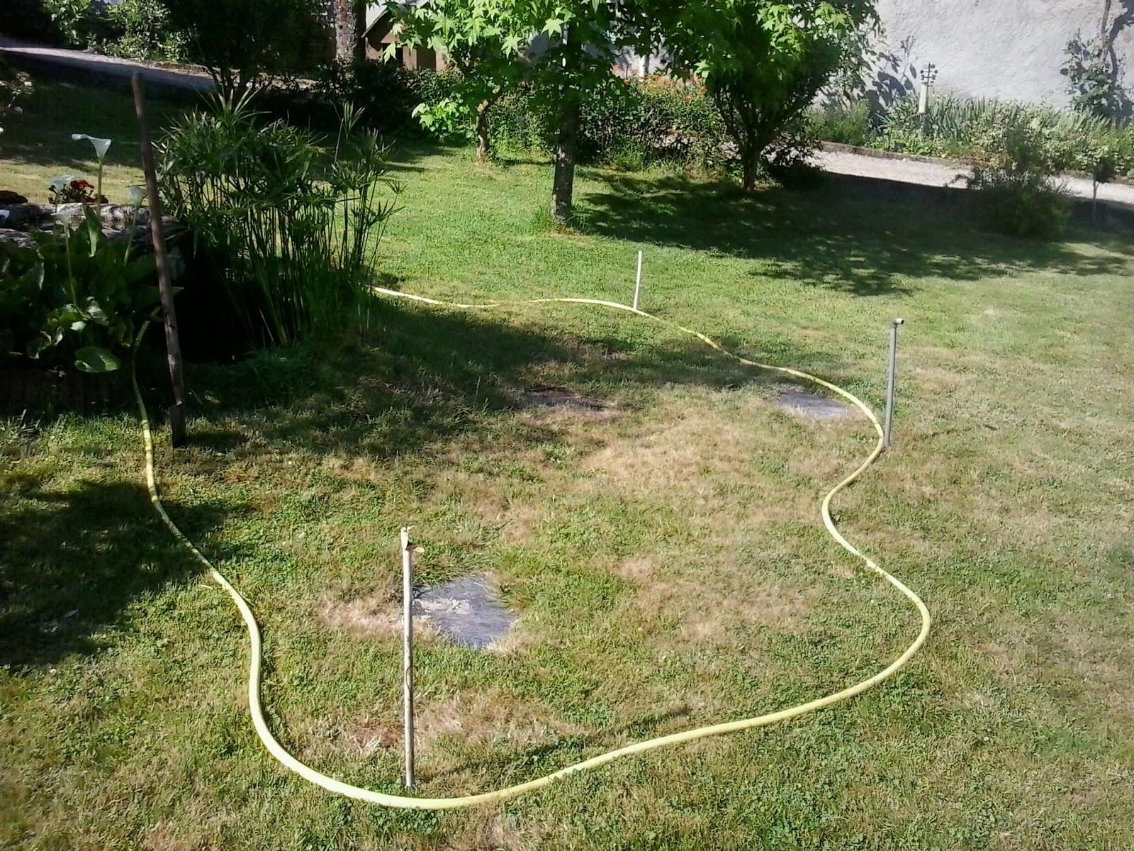 Amoxetar construcci n de un estanque en el jard n for Construccion de estanques acuicolas