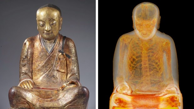 http://www.cbc.ca/news/technology/ancient-chinese-buddha-statue-has-a-mummy-with-surprises-inside-1.2967449