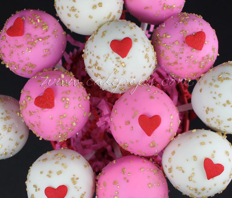 Candy's Cake Pops: Valentine Cake Pops