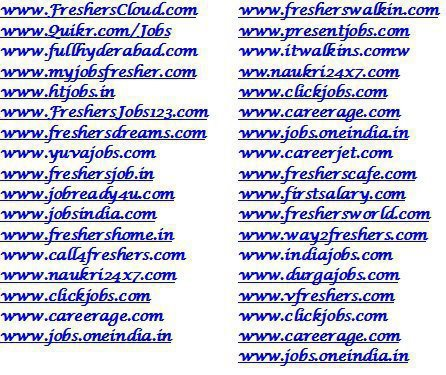 Freshers job Sites Wallpapers