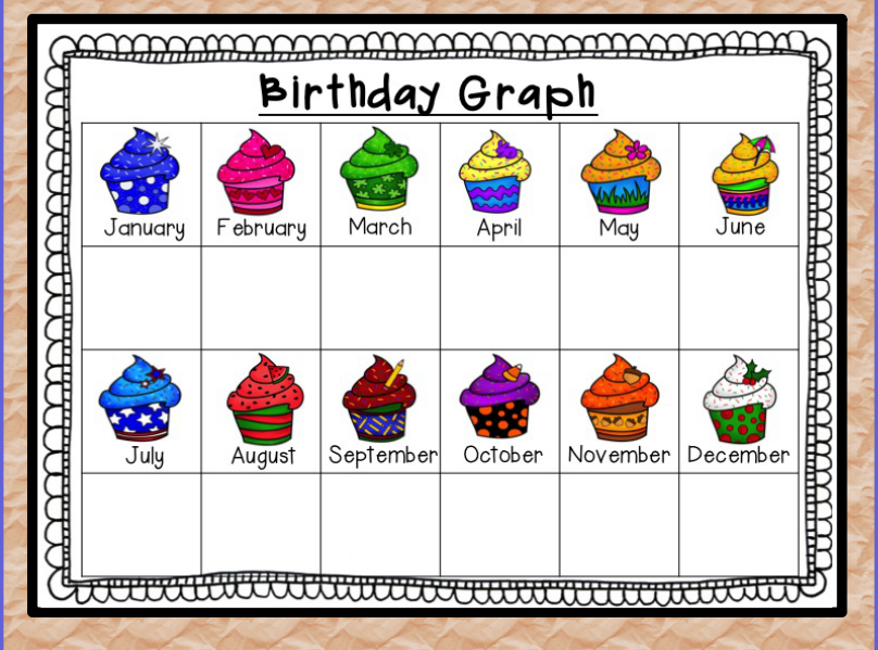 Birthday Calendar In Kindergarten : Kindergarten lifestyle calendar mania and freebies