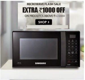 Snapdeal: Buy Microwave Ovens and OTGs upto 32% off + Rs. 1000 off on Rs. 12000 + Rs. 50 off