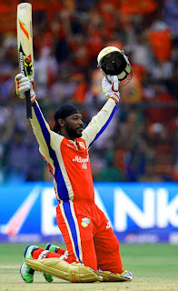 Chris Gayle Scores fastest century in cricket history during IPL game