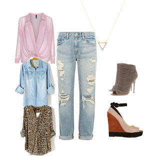 how to style boyfriend jeans date outfit