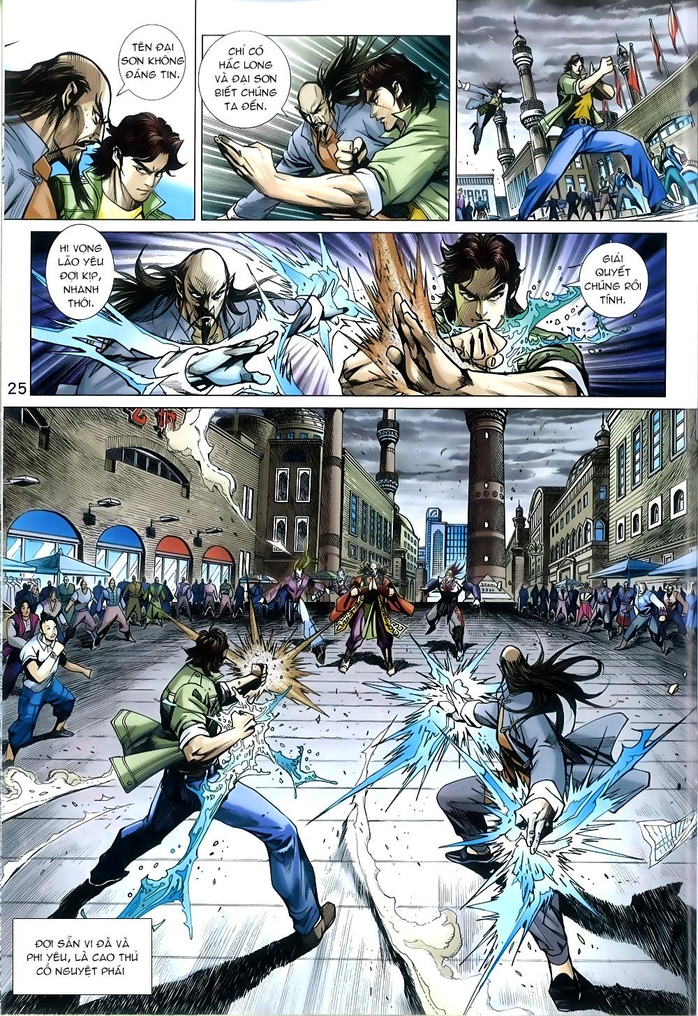 Tân Tác Long Hổ Môn chap 816 Trang 25 - Mangak.info