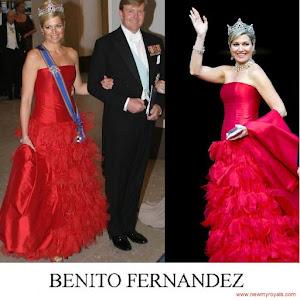 Queen Maxima Style BENITO FERNANDEZ Dresses