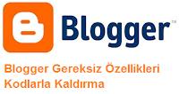 Blogger Tüm Kayıtları Göster Yazısını Kodlarla Düzenleme Kaldırma Yöntemi