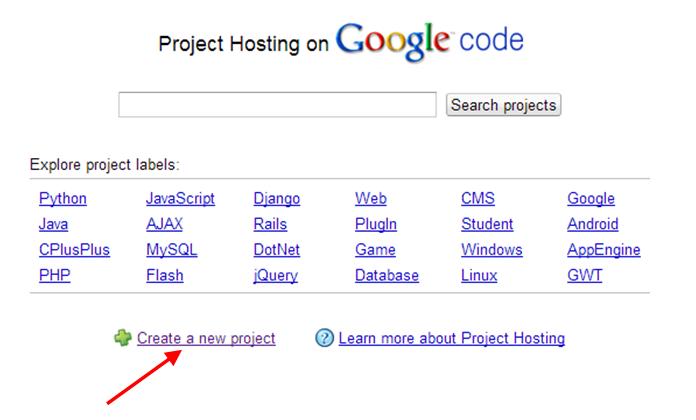 how to host js files to googlecode.com