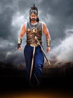 prabhas new still in bahubali