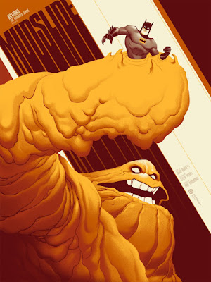 "Batman: The Animated Series ""Mudslide"" Screen Print by Phantom City Creative & Mondo"