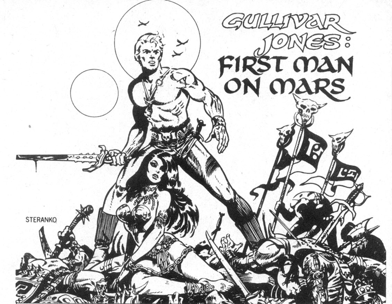 Image result for gulliver jones first man on mars